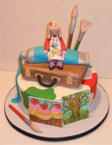 Themes For Artists 10 Best Images About Artist Cakes On Arts And