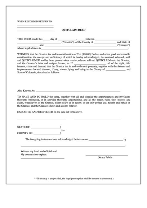 grant deed form templates