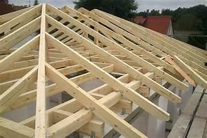 Dachstuhl Selber Bauen : dachstuhl aufbau a vz architektur hausbau dacharten ~ Whattoseeinmadrid.com Haus und Dekorationen