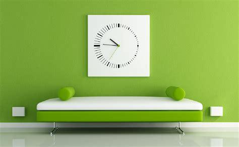 Green Interior Design View