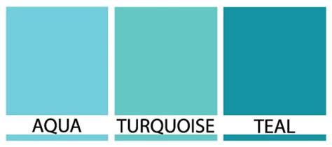 turquoise vs teal vs aqua aqua turquoise or teal