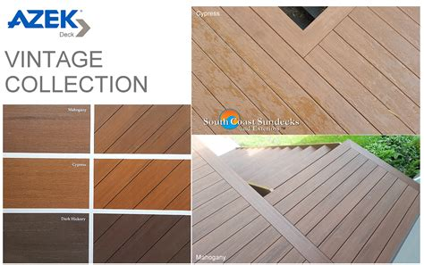 Azek Pvc Decking Colors by Everything Composite Decks Railings Vancouver