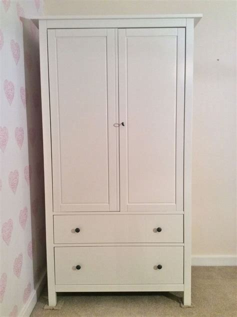 Hemnes Armoire by Ikea Hemnes White Wardrobe Free Delivery In Twickenham