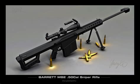 BaRrEtT M82 .50 CaL sNiPeR rIfLe --- BoOm HeAdShOt ...