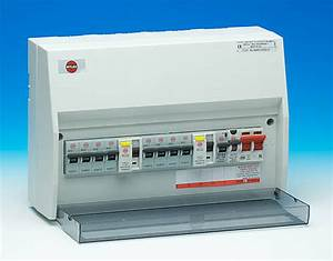 10 Way Hi Integrity Dual Rcd   100a Main Switch Metal Consumer Unit
