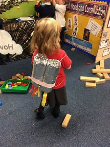 We made our own jet packs for our space station role play ...