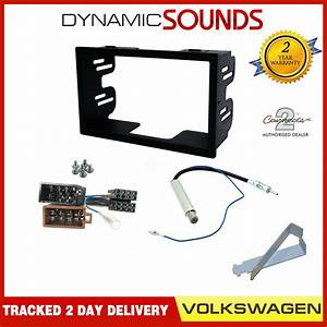 Double Din Car Stereo Fitting Kit Fascia  Wiring Harness
