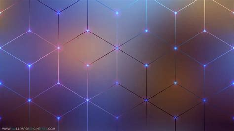 Wallpaper Animated Free - hex grid lines animated 4k wallpaper engine