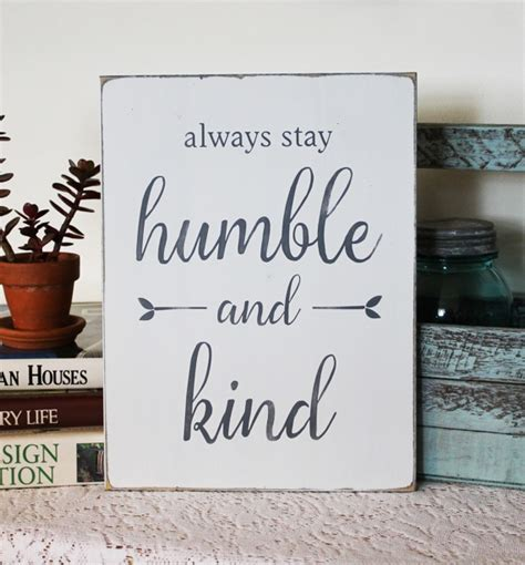 white distressed coffee table always stay humble and wood sign with painted