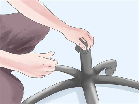 how to fix a sinking desk chair 12 steps with pictures