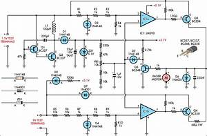 Improved Vibrating Battery Tester Circuit Diagram