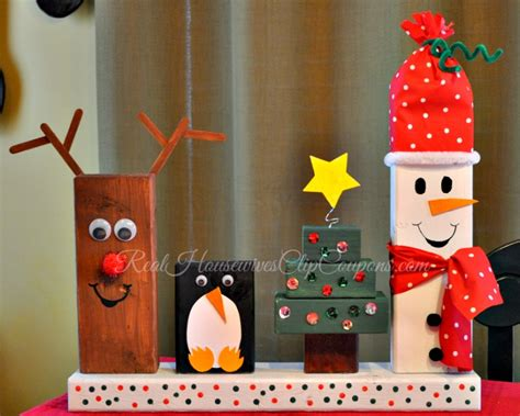 Wooden Christmas Crafts  Happy Holidays