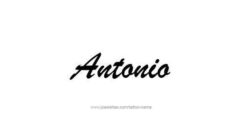 antonio  tattoo designs