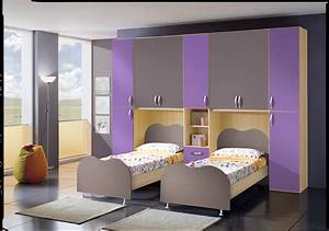 Cameretta per ragazzi ponte doppio letto Fiores Mobili