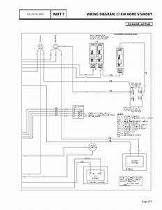 Group G  Wiring Diagram  17 Kw Home Standby Part 7  Page