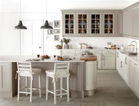 Mixing Grey And Cream Bodbyn Units-google Search