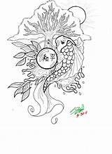 Koi Coloring Pages Fish Drawing Detailed Realistic Printable Coy Getcolorings Pa Mandala Library Getdrawings Popular Insertion Codes sketch template