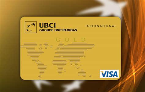 ubci disposer d une carte bancaire