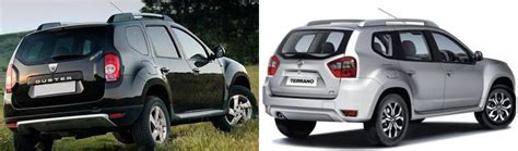 nissan terrano vs renault duster nissan terrano the more expensive twin brother of dacia
