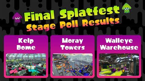 stages  picked  splatoons  splatfest