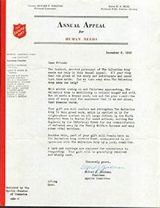 amazoncom salvation army appeal human needs letter With amazon appeal letter sample