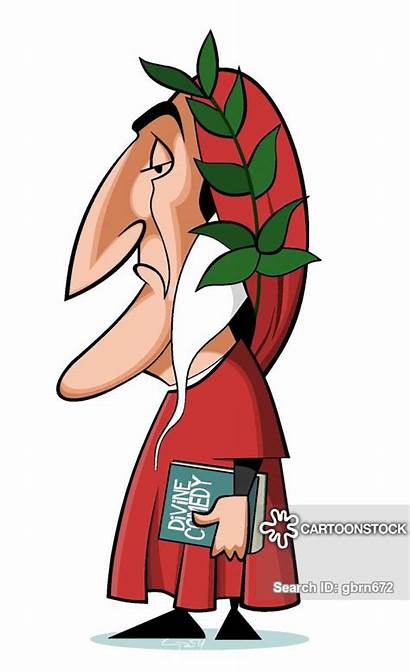 Dante Alighieri Clipart Cartoon Cartoons Allighieri Comics