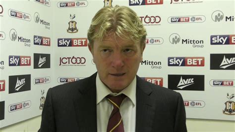Stuart McCall after Oldham Athletic home draw - YouTube