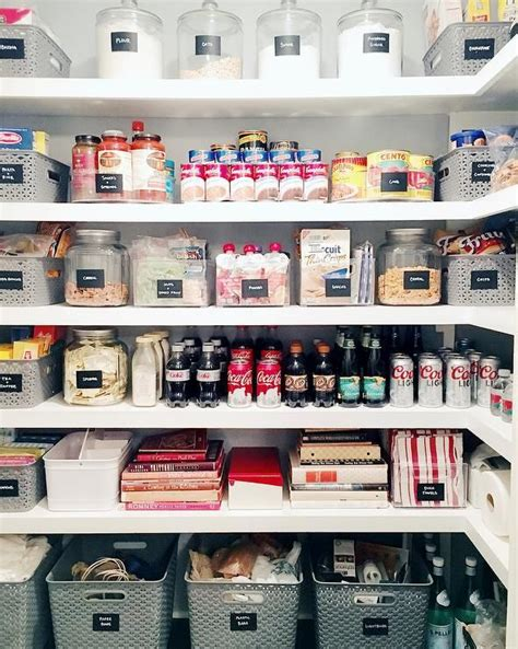 lovely walk  pantry features  top row filled