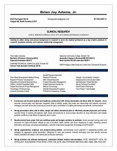 august research resume With clinical research experience