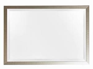 Große Spiegel Mit Rahmen : spiegel mit geb rstetem silbernem rahmen ~ Michelbontemps.com Haus und Dekorationen
