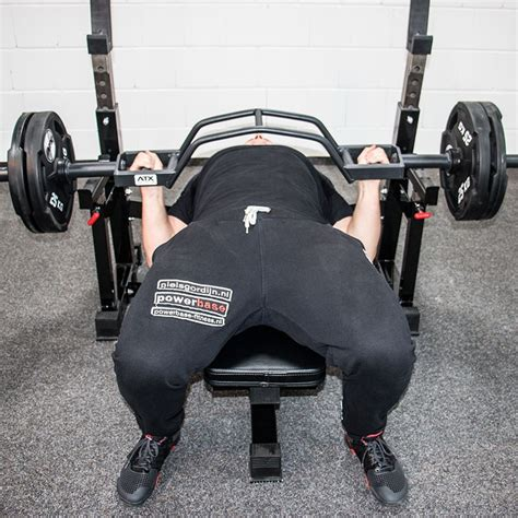 cambered bench bar atx olympic parallel press row camber bar