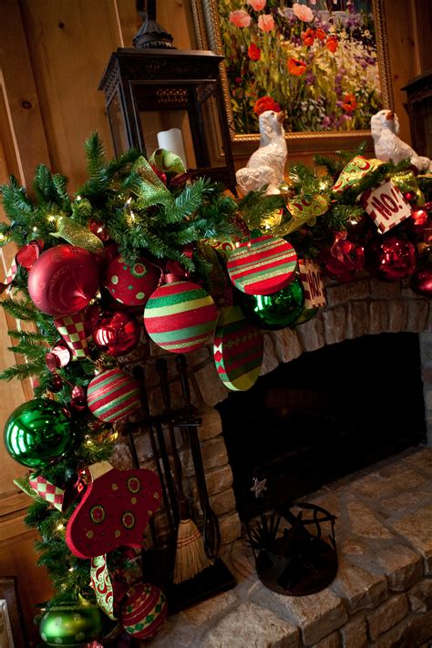 show   mantel  merry ways show  decorating