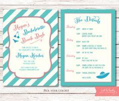 Bachelorette Weekend Itinerary By Oohlalovely On Etsy 22 Bachelorette Weekend Itinerary By Oohlalovely On Etsy 22
