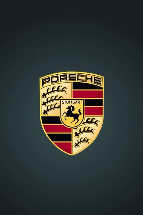 porsche logo black background porsche iphone wallpaper hd image 336