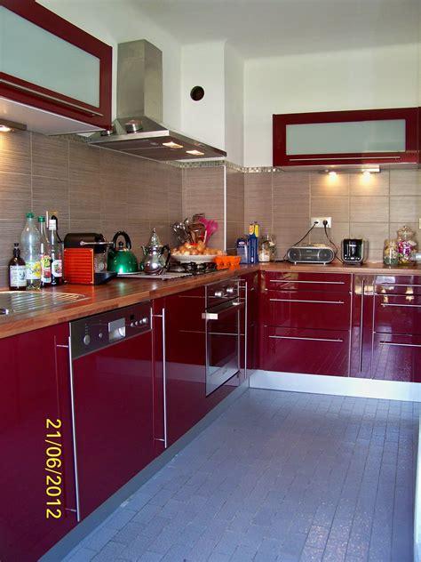 cuisines rouges cuisine