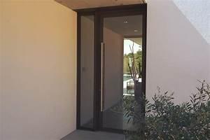 Porte D Entrée Vitrée Aluminium : portes d entr e aluminium moine menuiserie ~ Melissatoandfro.com Idées de Décoration