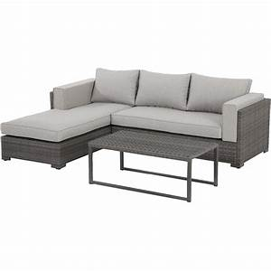 hanover lenox hill 3 piece wicker outdoor sectional set With 3 piece outdoor sectional sofa set