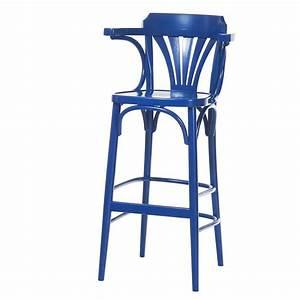 Chaise De Bar Bois : tabouret en bois avec accoudoirs style bistrot 135 4 ~ Dailycaller-alerts.com Idées de Décoration