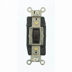 Leviton 15 Amp Industrial Grade Heavy Duty Single