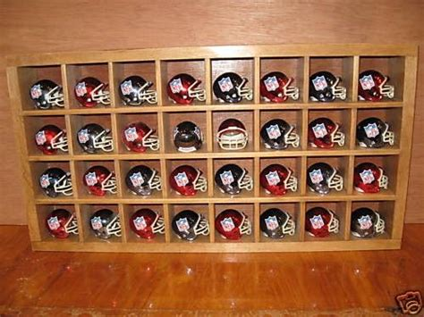 measurements of kitchen cabinets shadow box cubby football helmet display rack fits riddell 7413