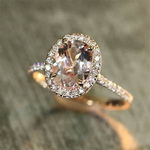 the blush and pastel gemstone for the perfect engagement With morganite wedding ring
