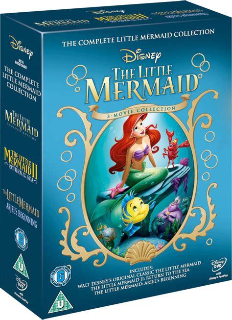 mermaid   dvd zavvi