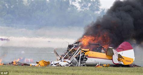 ohio airshow crash pilot steered plane   crowd