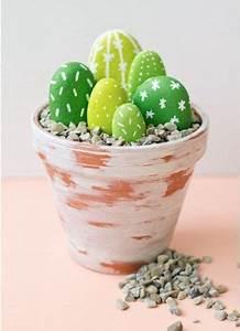 Basteln Mit Steinen : kaktus aus steinen basteln dekoking com bastelideen und ~ Watch28wear.com Haus und Dekorationen