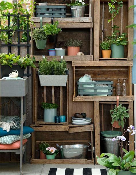 20 Idées Pour Aménager Un Petit Balcon  Elle Décoration