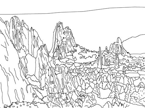 immagini dellestate da colorare e stare disegni sulla montagna i pi belli da stare e colorare