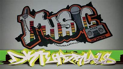 Graffiti Wallpapers Backgrounds Words Draw Letters Drawing