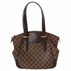 Tasche Louis Vuitton : louis vuitton tasche verona mm aus damier eb ne canvas ~ Watch28wear.com Haus und Dekorationen