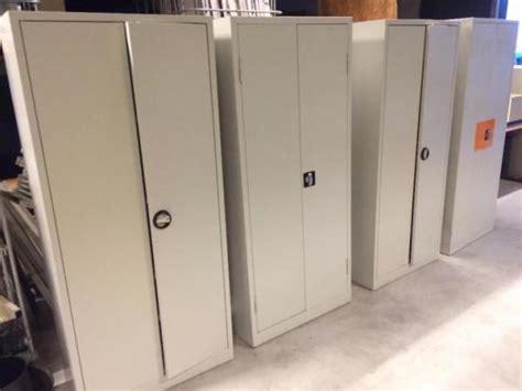 partij metalen werkplaats kasten stalen opbergkast