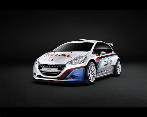 Peugeot 208 Type R5 Rally Car For 2013